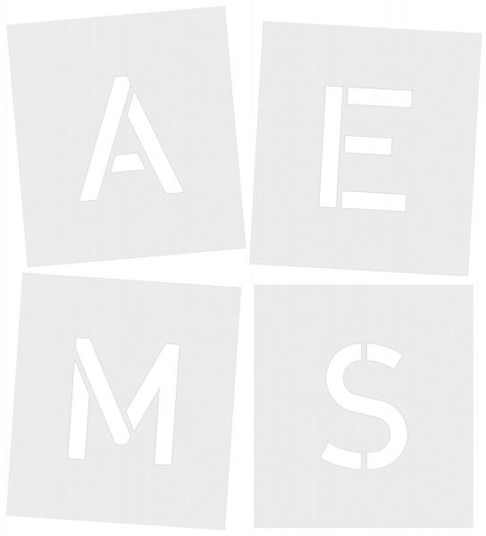 Standardgraph Signierschablonen-Satz