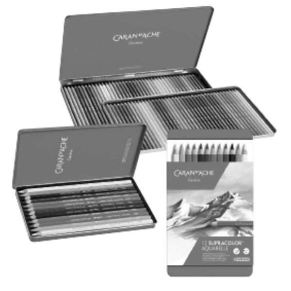 Caran d'Ache Classic Supracolor Soft-Set | Metalletui