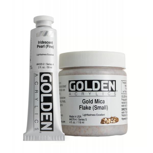 Golden Heavy Body Acrylics | Iridescent Colors