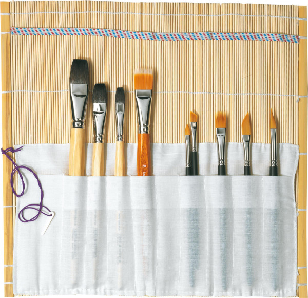 Ars Nova Pinselmatte aus Bambus