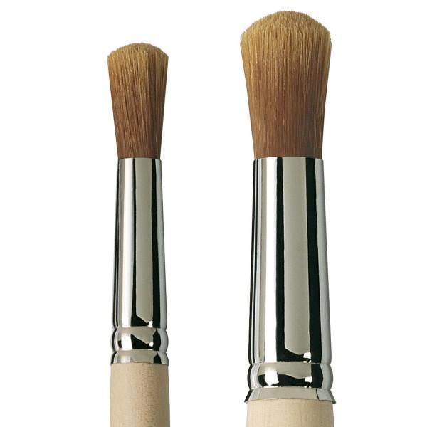 Boesnertest Serie 806121 Syntetisk pensel til forgyldning