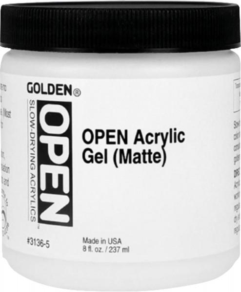 Open Acrylic Gel | Golden Mediums & Additives