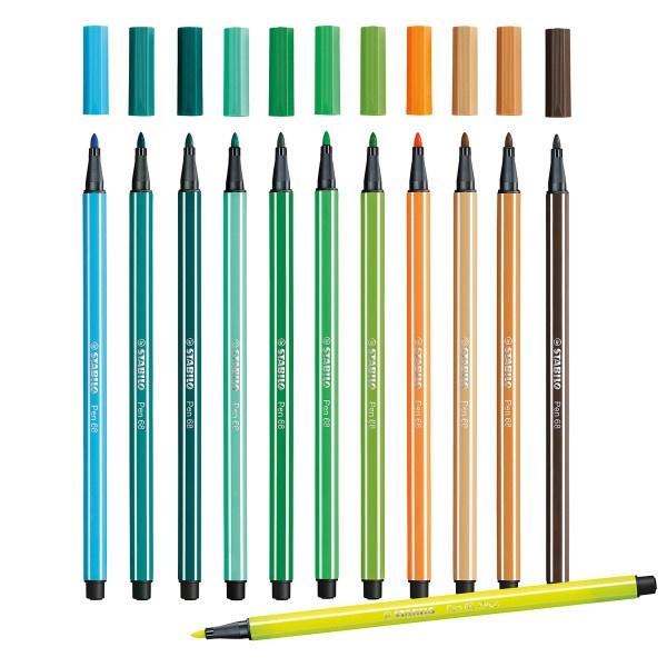 Stabilo Pen 68 filtpen