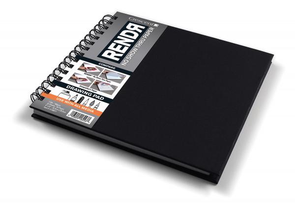 Sketchbook mit Spiralbindung   Crescent Rendr Markerpapier