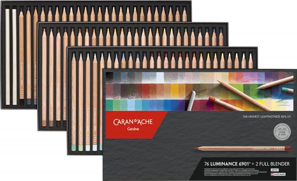 Caran d'Ache Luminance 6901-Set   Kartonetui