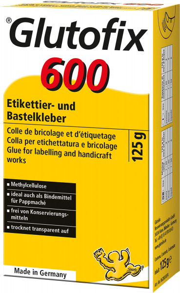 Boesnertest Glutofix 600 Etiketterings-/hobbylim