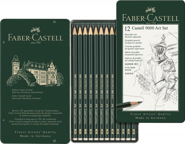Faber-Castell Castell 9000 Art-sæt