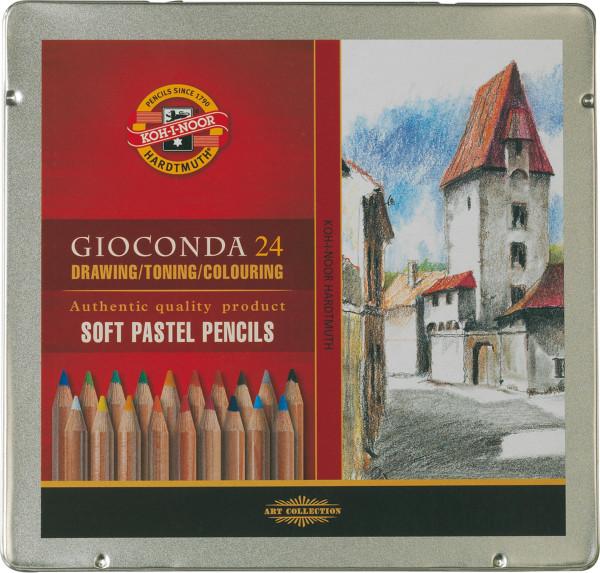 Koh-I-Noor Gioconda Soft pastelblyanter