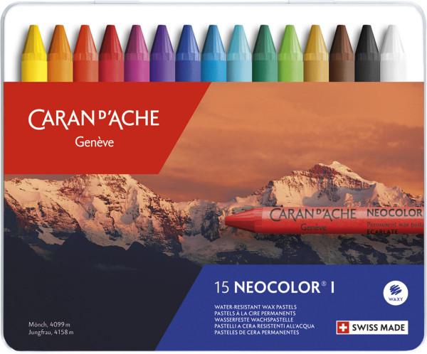 Caran d'Ache Neocolor I Wachspastelle-Set
