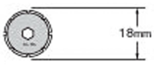 PRB18-2 Klinge, 2 Stück   Olfa PRC-2 Perforationscutter