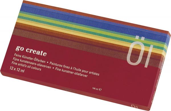 Go Create Oliefarve-sæt