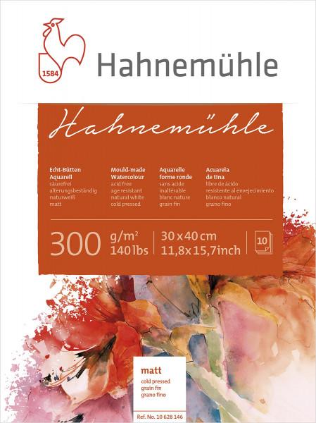Hahnemühle Echtbütten-Aquarellblock | 300 g/m²
