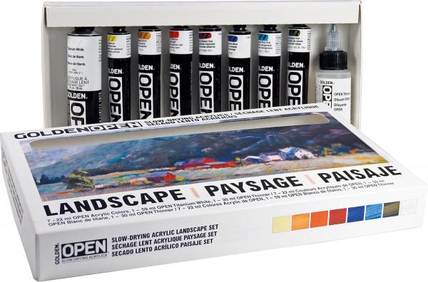 Golden Open akrylfarvesæt, Landscape