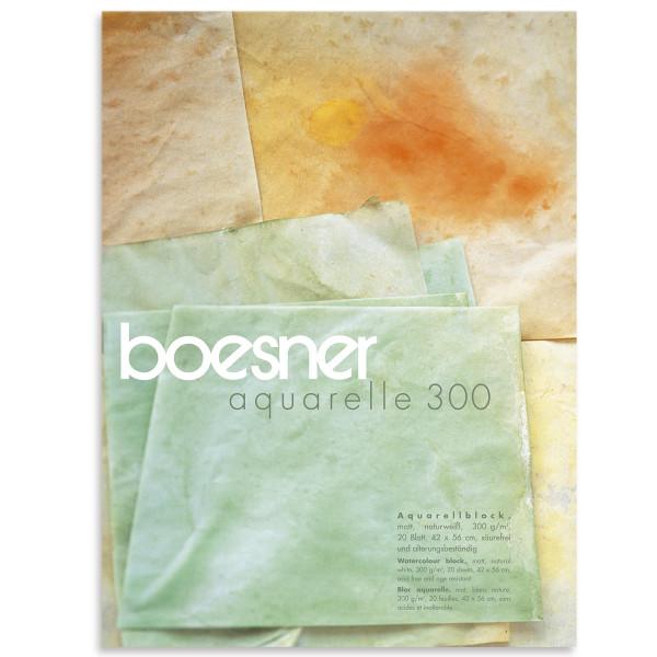 boesner – Aquarelle 300 Professionel akvarelblok, mat