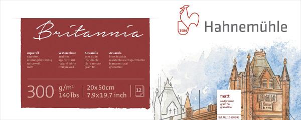 Hahnemühle Britannia Akademie-Panorama-Aquarellblock