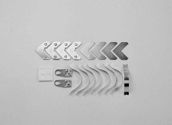 Montage-Set für Mettel-Profile 1,2,3