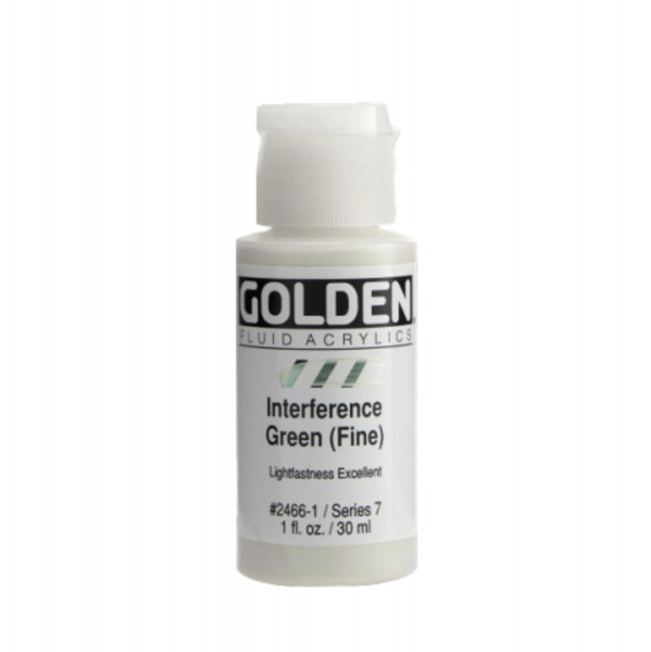 Golden Fluid Acrylics | Interference Colors